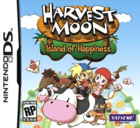 Juego Nintendo DS HarvestMoonIslandofHappiness