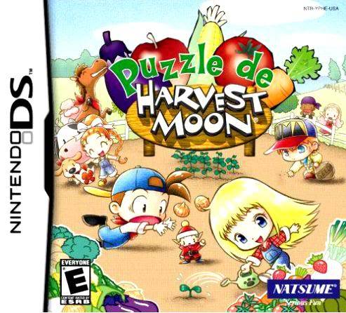 Juego Nintendo DS Puzzledeharvestmoon