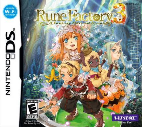 Juego Nintendo DS RuneFactory3