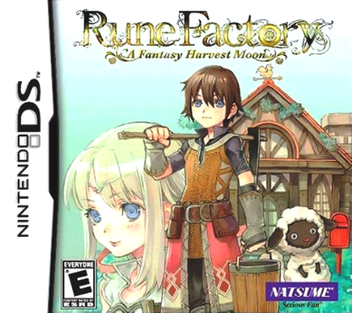 Juego Nintendo DS RuneFactoryAFantasyHarvestMoon