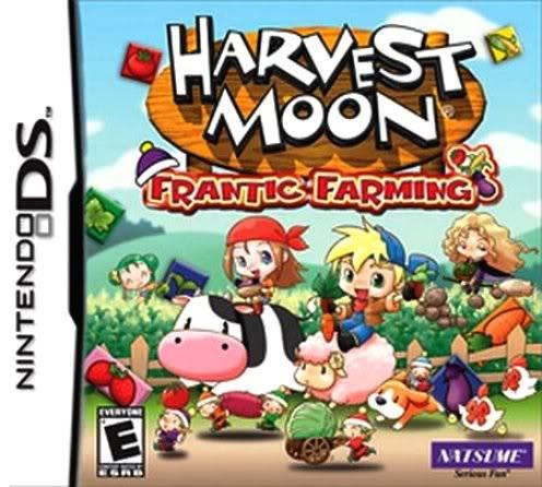 Juego Nintendo DS Harvestmoonfranticfarming