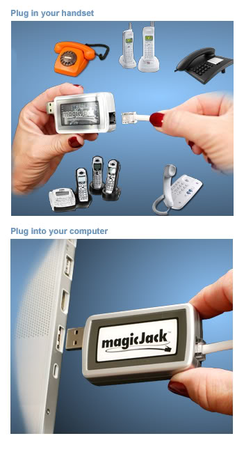 Magic Jack  (MagicJack) - Thiết bị gọi di mỹ và canada miễn phí Magicjack-2