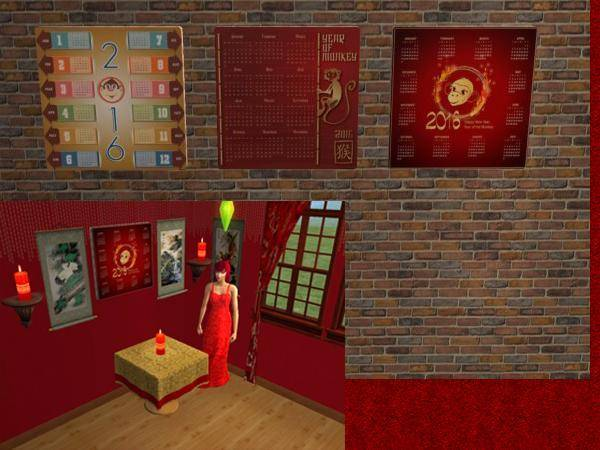 The Isle of Catarina Sims February Updates Recolors-calendars%20table%20and%20candle