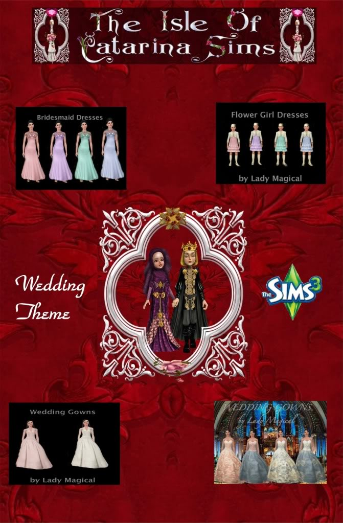 The Isle of Catarina Sims WeddingThemePoster2