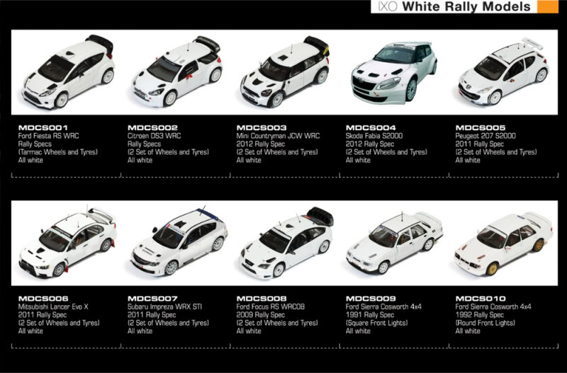 NEW 2013 IXO Plain White Rally Cars White_zps983c9bec