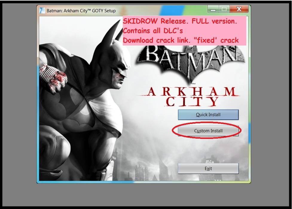 Batman: Arkham Origins RELOADED + CRACK ONLY 0d91e3fb