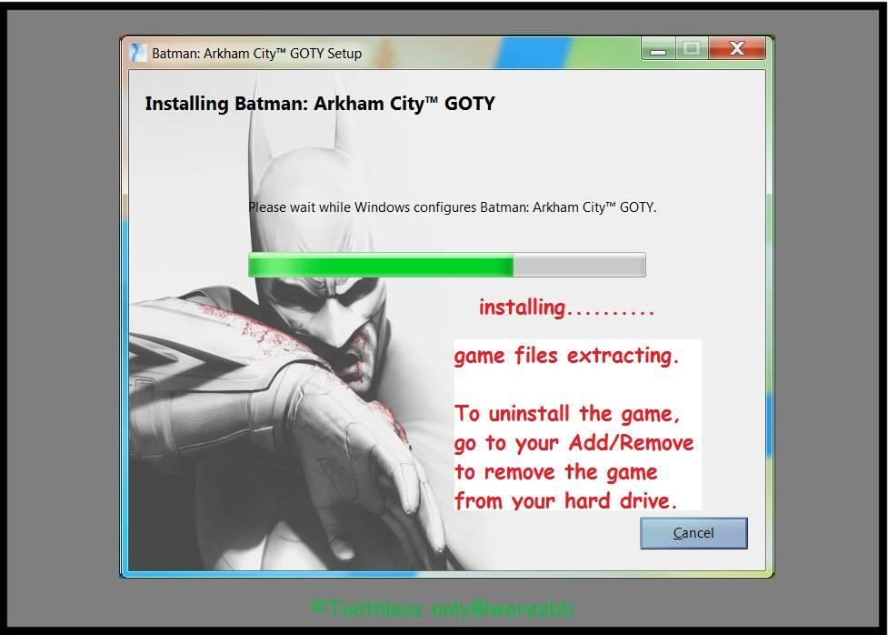 Batman: Arkham Origins RELOADED + CRACK ONLY 82d1a917