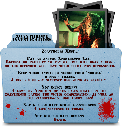 ZOANTHROPE INVESTIGATIONS Advert2