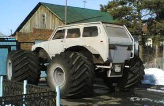 Pomoc oko izabira terenca. - Page 2 Lada-Niva-4x4-Monster-Truck