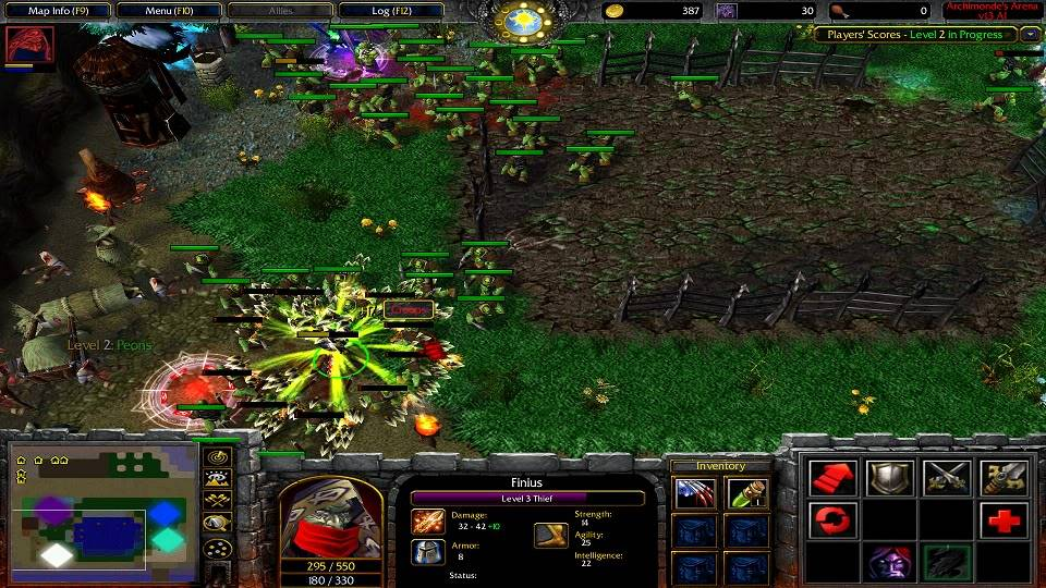 Archimonde's Arena AA_Fighting1