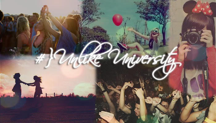 #}Unlike University