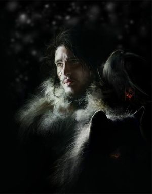 House Stark 300px-Jon_Snow_by_AniaEm