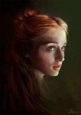 House Stark 300px-Sansa_Stark_by_AniaEm