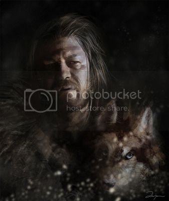 House Stark Eddard_by_AniaEm
