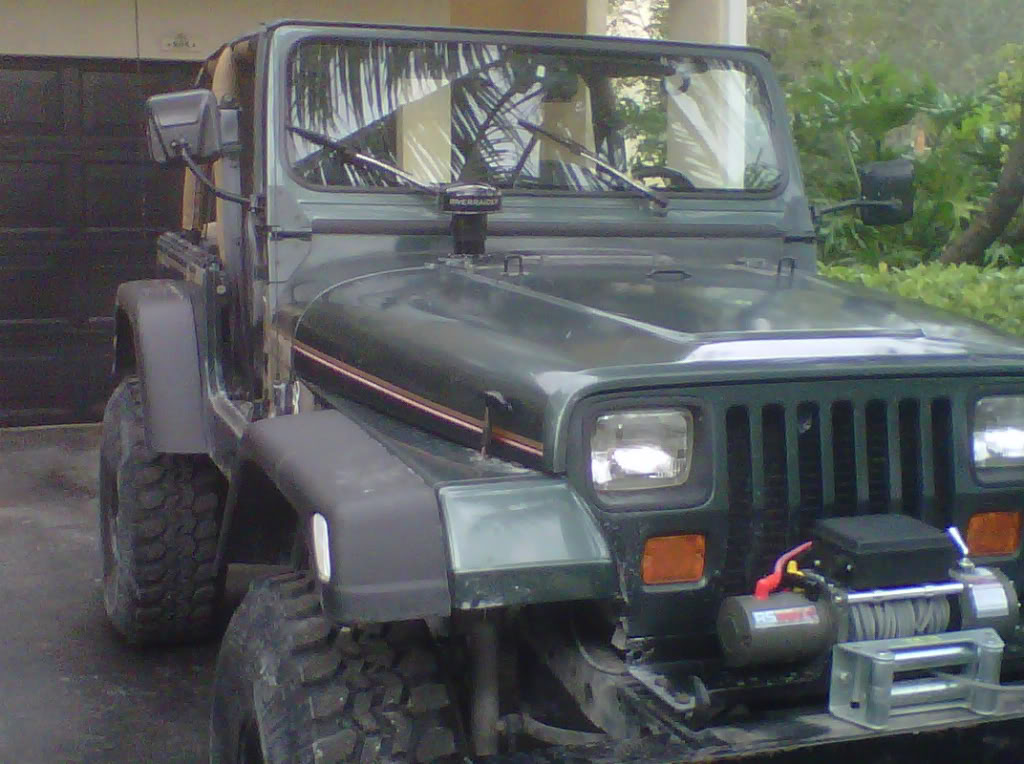 River Raider TJ Expedition Snorkel Installed in a YJ 0d3761e7