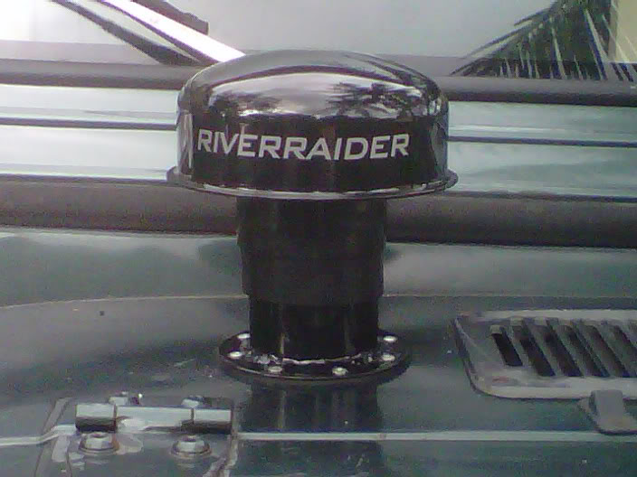 River Raider TJ Expedition Snorkel Installed in a YJ 6391e2f4