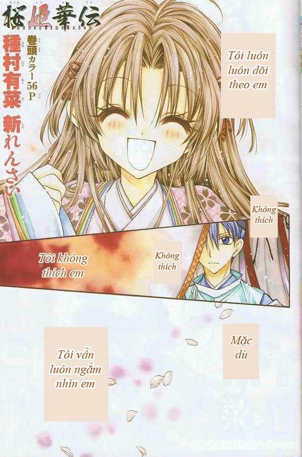 [Spirit Group] Sakura Hime Kaden Chapter 1 - Dòng họ Ánh trăng 00