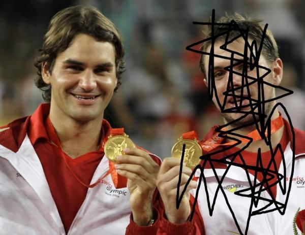 How Shiny Is The Gold Medal Now? Roger