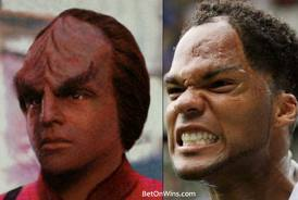 Sporting lookalikes - contains images Worf