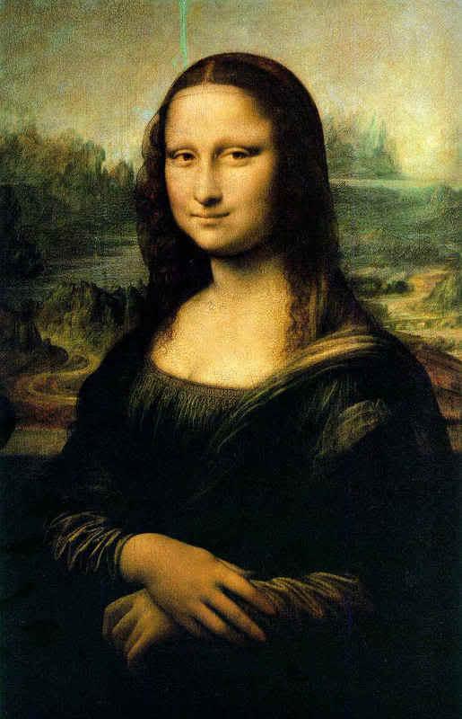 الرّسام العالمي الشهير ليوناردو دافينشي 1452 – 1519  Leonardo-Monalisa
