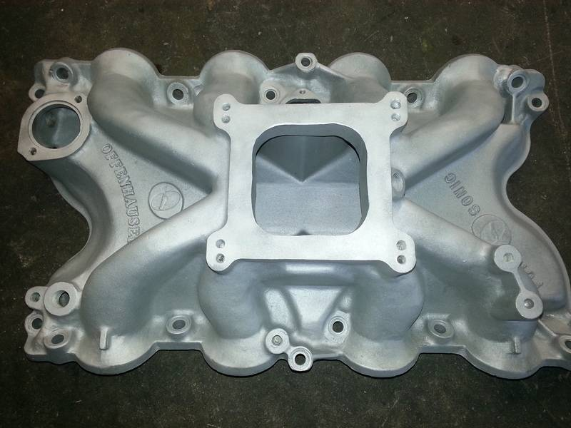 Offenhauser Port O Sonic Intake for sale. 20150827_111439_zps7tbxfh8y