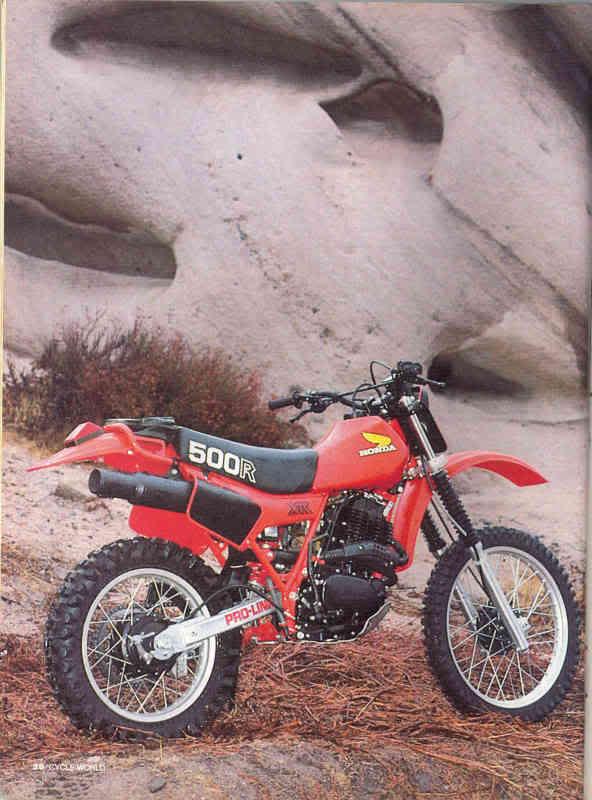 Honda XR 500 R - 1982 HondaXR500R2a