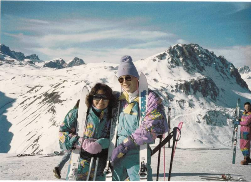 Skiing Ski80s2