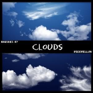 Brushlar ----Alıntıdır Clouds_by_michmellow