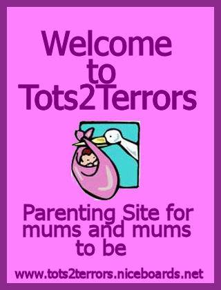 Free forum : Tots2Terrors - tots2terrors Banner