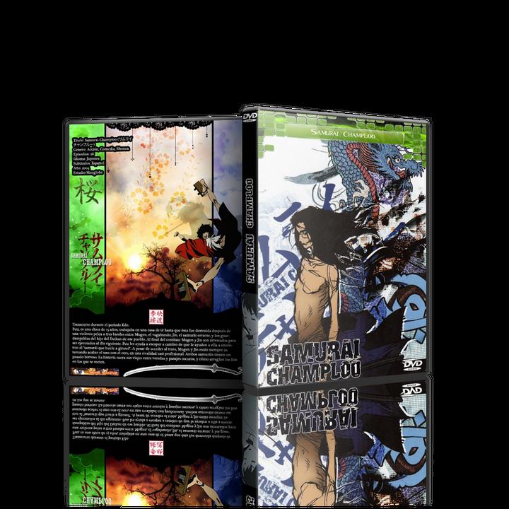Samurai Champloo - (3 modelos) Samuraichamploo3