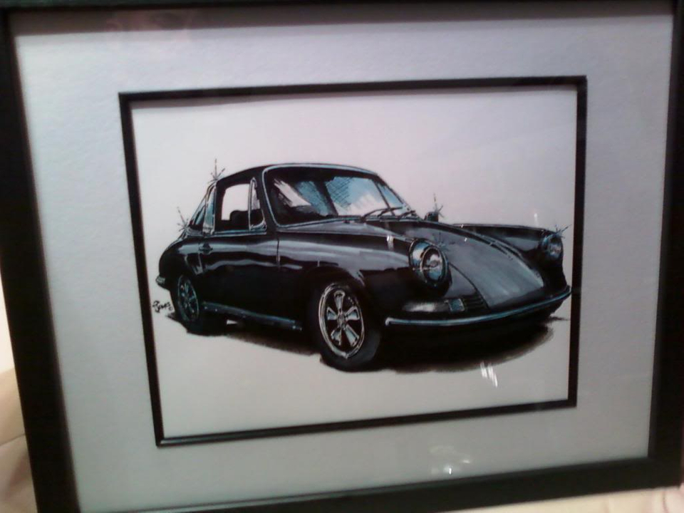 Gary your pic is ready  Porsche