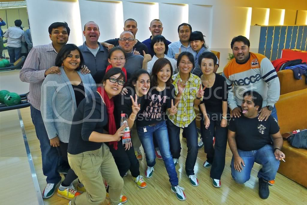 BOWLING - Get Together Activity  20111112BowlingChangshu-27