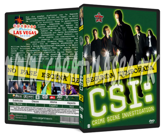 CSI Segunda Temporada [2001] Csi-t2