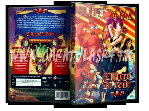 Futurama Peliculas (2007-2009) Futurama---El-juego-de-Bender