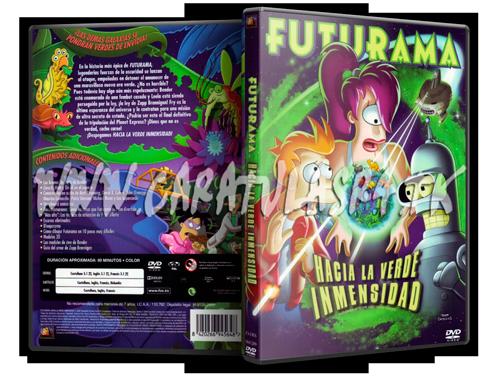Futurama Peliculas (2007-2009) Futurama---La-verde-inmensidad