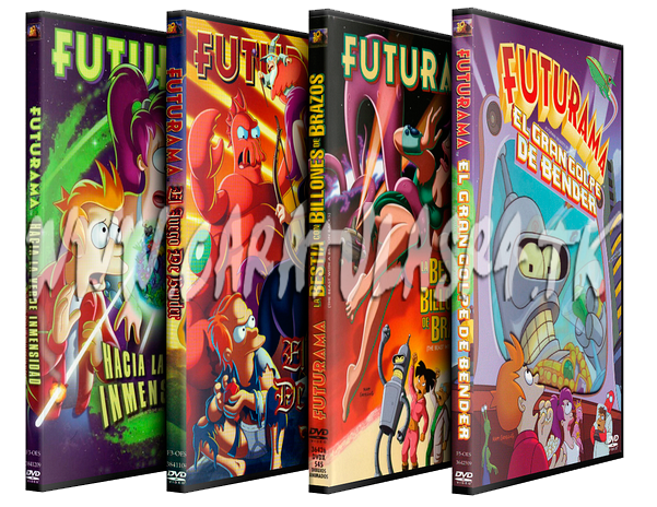 Futurama - Todas las Temporadas Muestra-futurama-peliculas