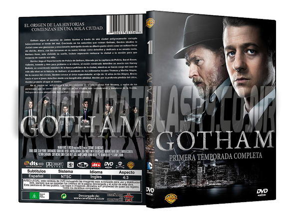 Diseño de Caratulas DVD - Portal Muestra-gotham_zps85izlrd9