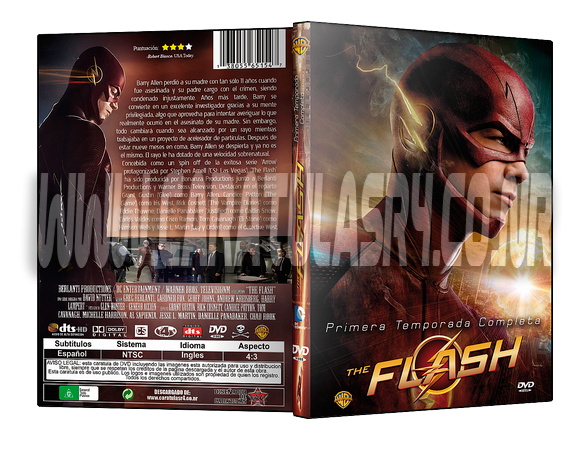Diseño de Caratulas DVD - Portal Muestra-the-flash-t1_zpsersbcsgx