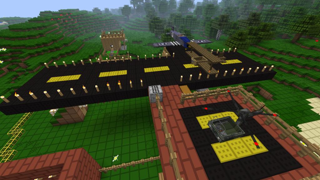 [Tema] Mejores construcciones en el Minecraft Aerohelipuerto