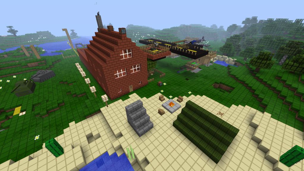 [Tema] Mejores construcciones en el Minecraft Tododesdefuera