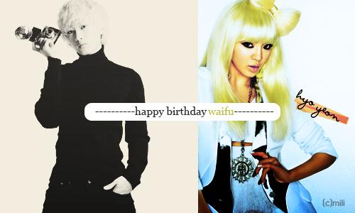 Feliz Cumpleaños Pola ♥♥ Waifu-1