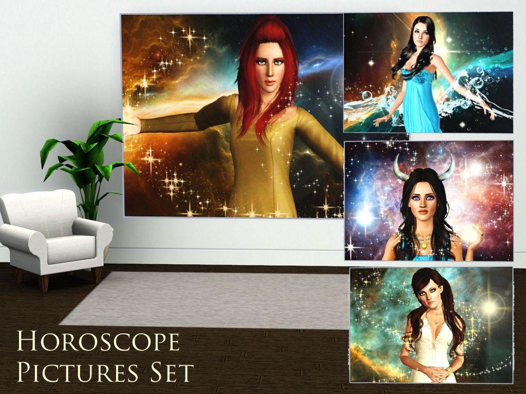 Simplistic Magazine Horoscope Picture Set HoroscopePicturesset3