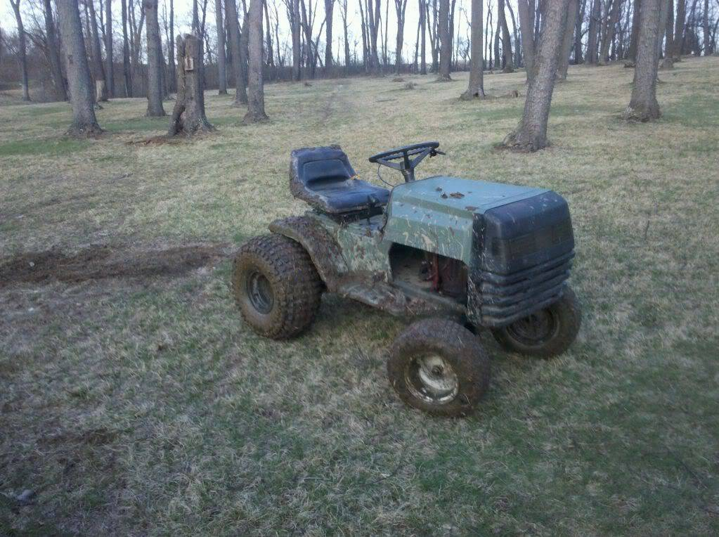 Dynamark Trail/Mud Tractor Rebuild Video Series Dirty