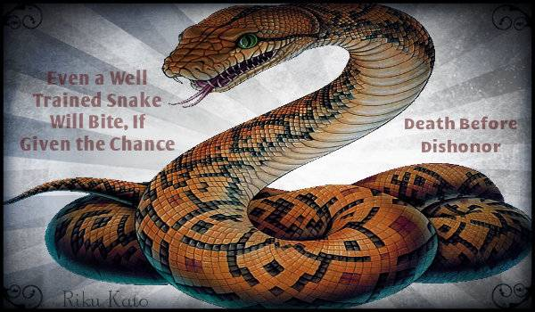 Stepping away for a few days Family Issues  DeathBeforeDishonorSnake