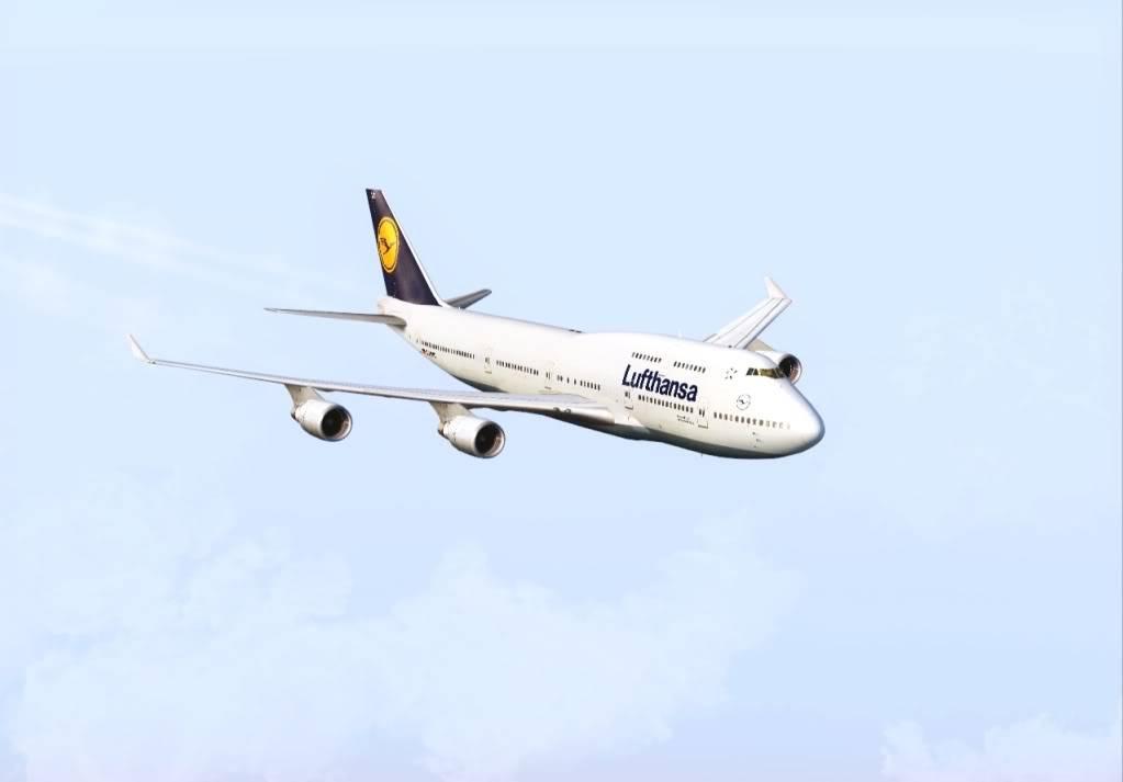 DLH507 | GRU - FRA | Boeing 747-400 Shot0006