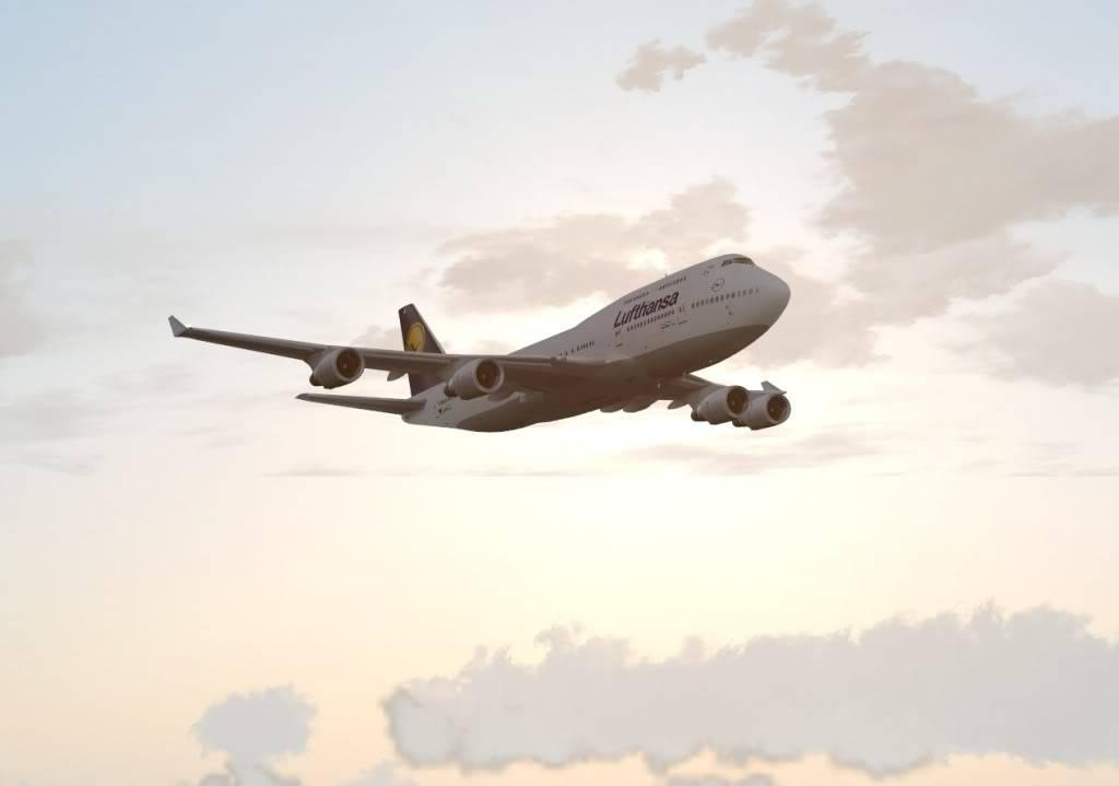 DLH507 | GRU - FRA | Boeing 747-400 Shot0014