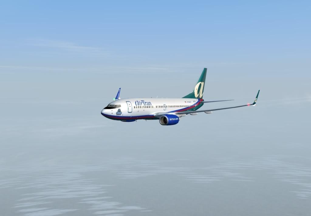 New York - Chicago | AirTran B737-700 Shot0011