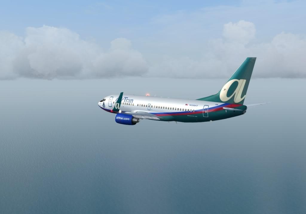 New York - Chicago | AirTran B737-700 Shot0012