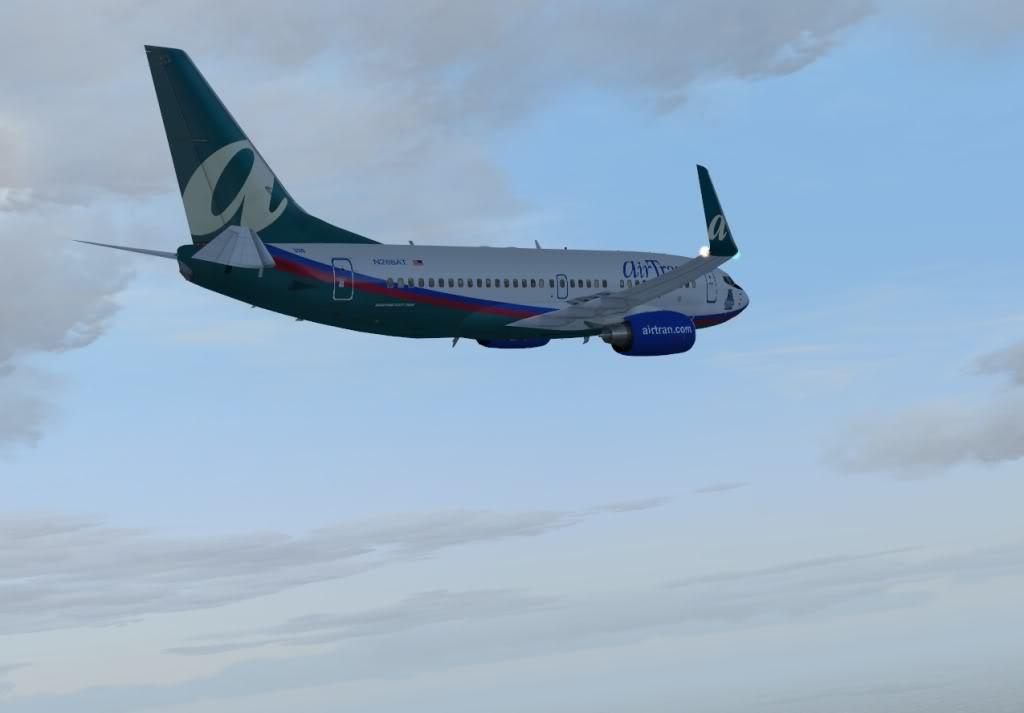 New York - Chicago | AirTran B737-700 Shot0014