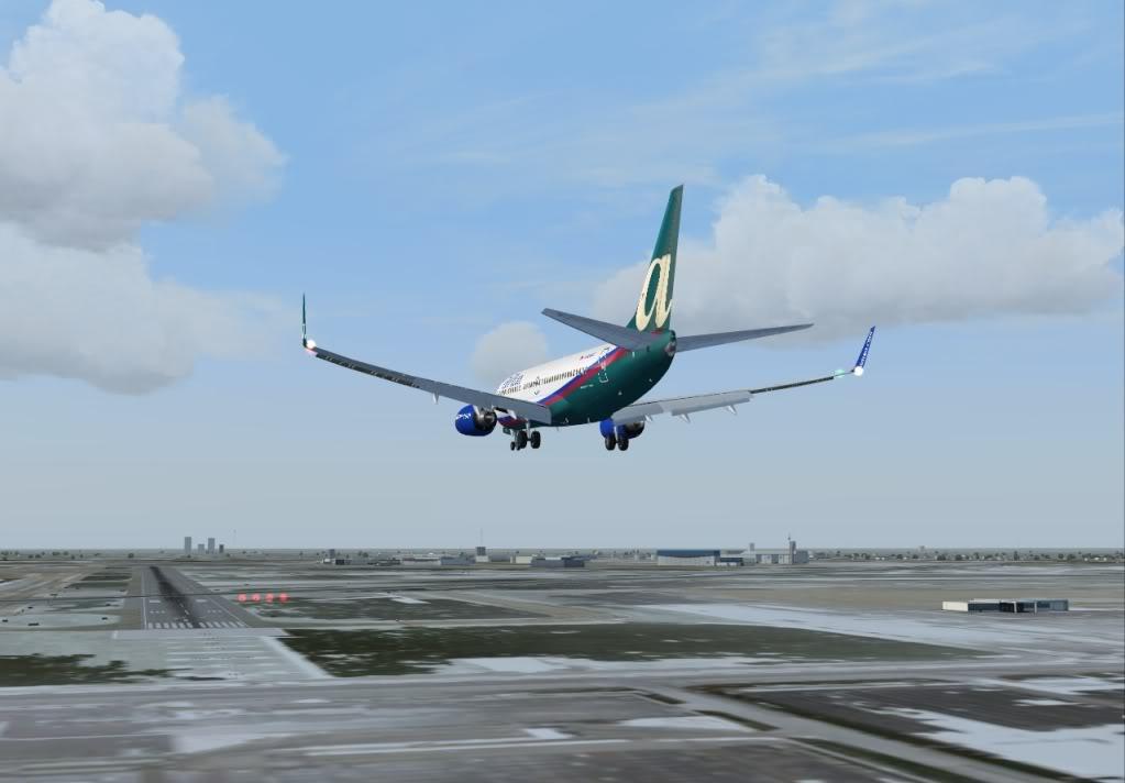 New York - Chicago | AirTran B737-700 Shot0018